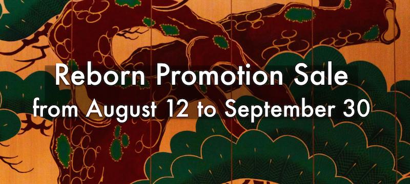 Reborn Promotion Sale to September 30